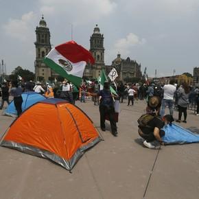 AMLO: levantan la protesta callejera contra el presidente de México