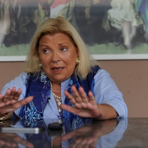 """Elisa Carrió warns Together for Change: """"Don't count on me for an intern"""""""