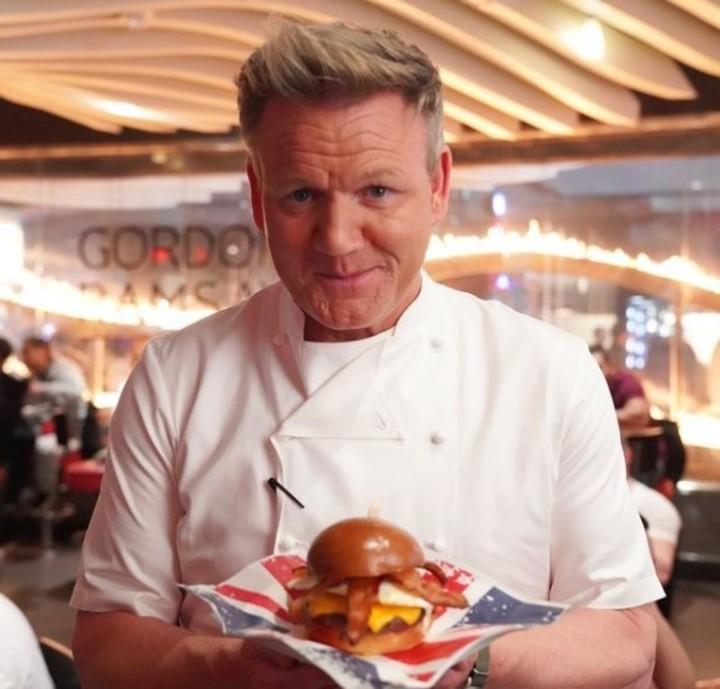 Celebrity chef Gordon Ramsay (@gordongram).