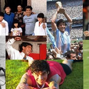 Las mejores fotos de Diego Armando Maradona