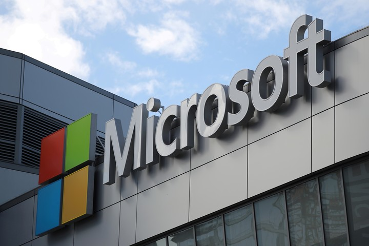 Microsoft, leader in sales of the segment.  Photo: Reuters