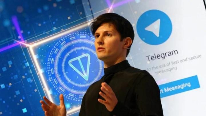 Pavel Durov, creator of Telegram.
