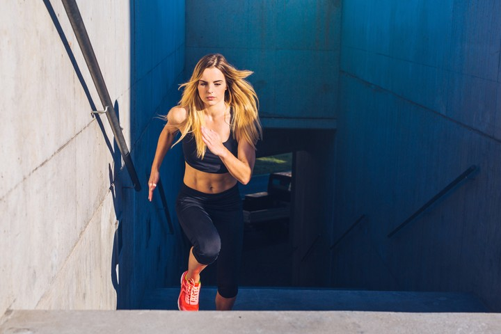 Physical exercise releases endorphins, a natural pain reliever.  Photo Shutterstock.