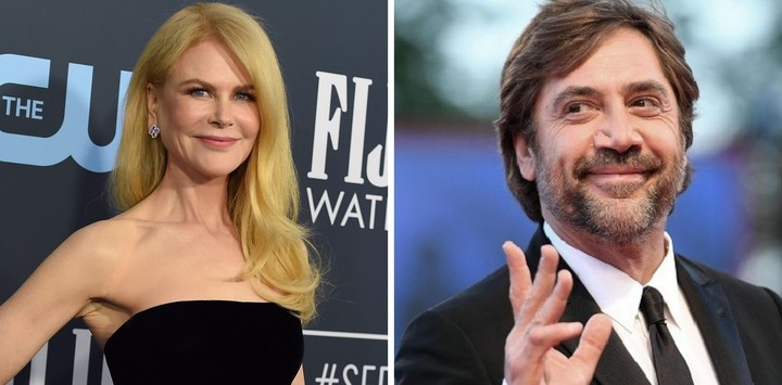 Nicole Kidman and Javier Bardem will play Lucille Ball and Desi Arnaz, her Cuban husband.  Photos Clarín Archive