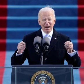 All photos of Joe Biden's inauguration as the new president of the United States