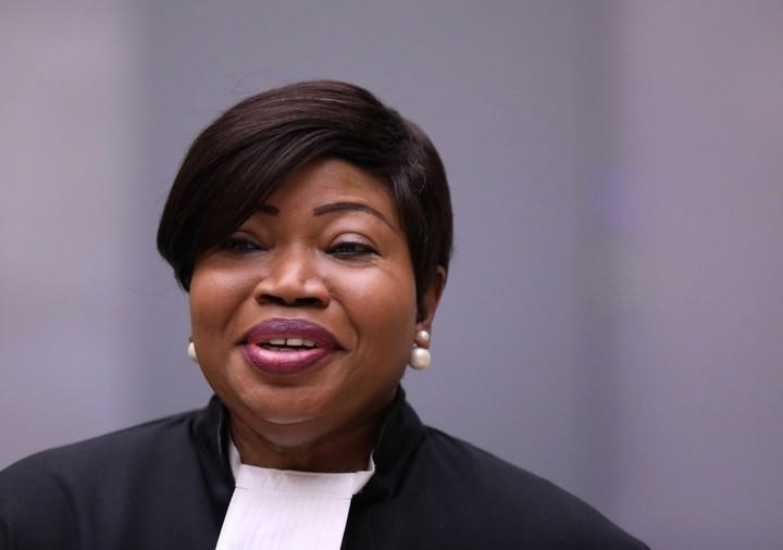 Outgoing ICC prosecutor Fatou Bensouda.  Photo: EFE