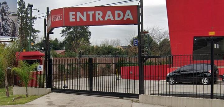 El local de Rodríguez Palacios está en el centro comercial Euskal, en Tigre.