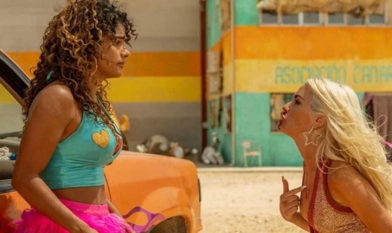 Lali Espósito y una prostituta huyendo de su proxeneta, para alertar sobre  la trata de personas