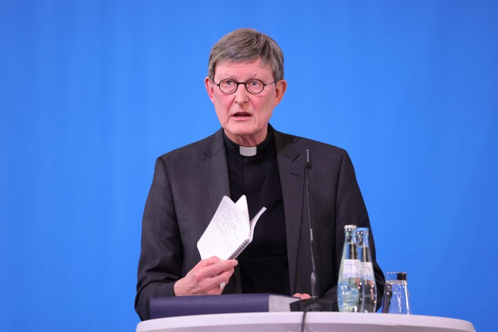 The Cardinal of Cologne, Germany, Rainer Maria Woelki, singled out for covering up abuses.  Photo: EFE
