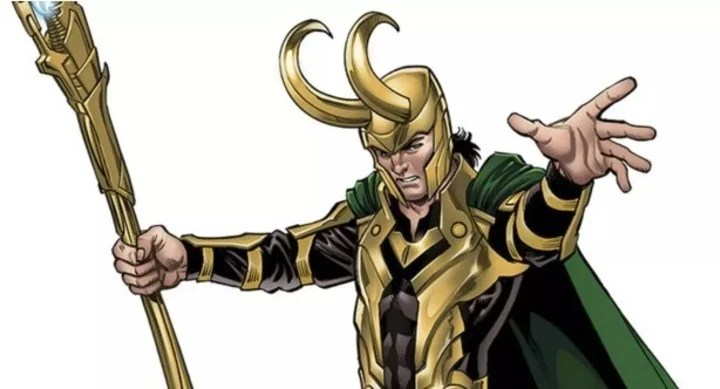 Loki's character is played by Tom Hiddleston.