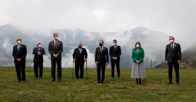 """Arrancó la Cumbre Iberoamericana en Andorra: """"Tenemos que hacer autocrítica sobre el acceso a las vacunas"""", afirma su anfitrión Xavier Espot"""