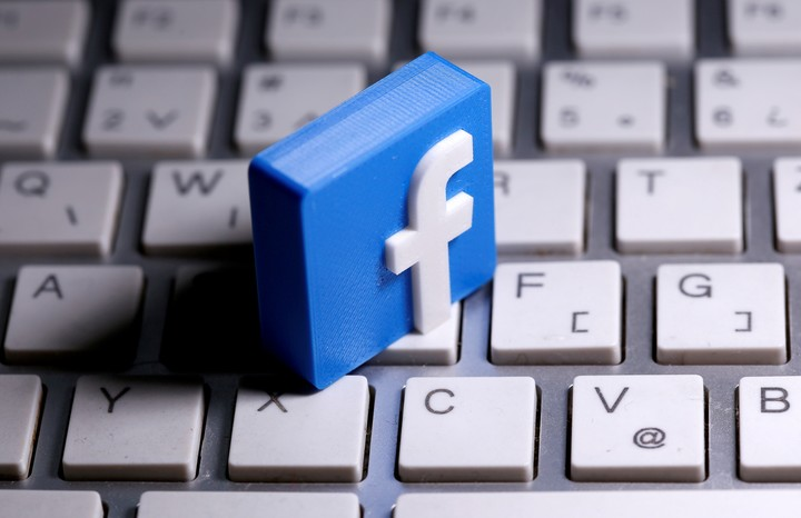 Political content on Facebook will be reduced.  Reuters photo