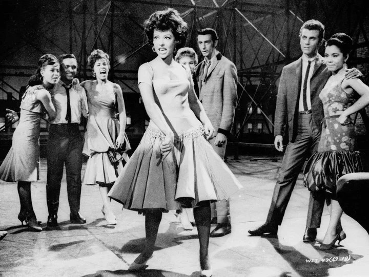 """Despite his performance in """"West Side Story"""" and her award, Rita Moreno only found obstacles in the cinema, to develop a career.  AP Photo"""