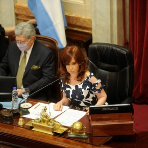 Cristina Kirchner's harsh warning to the court that has to decide on her two honorary pensions