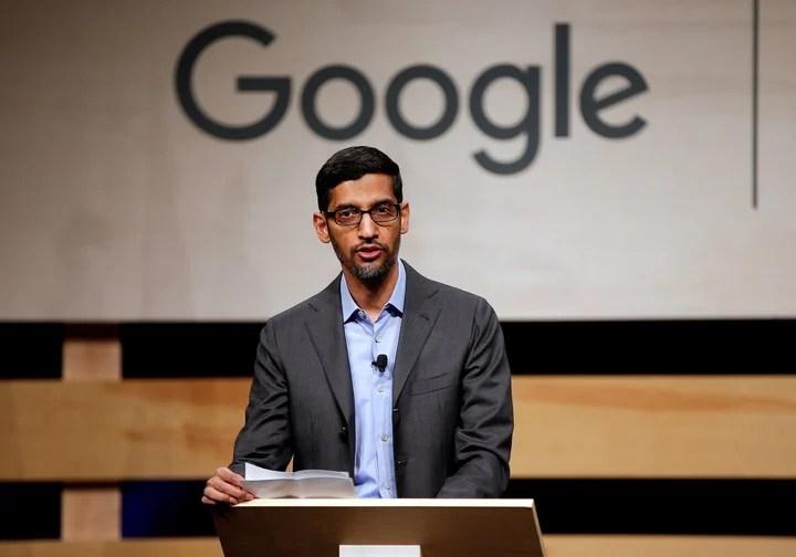 Sundar Pichai, CEO of Google.  Photo: Reuters