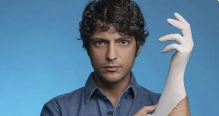 """Taner Ölmez, the actor of the Turkish series """"Doctor Miracle"""".  Photo Clarín Archive"""