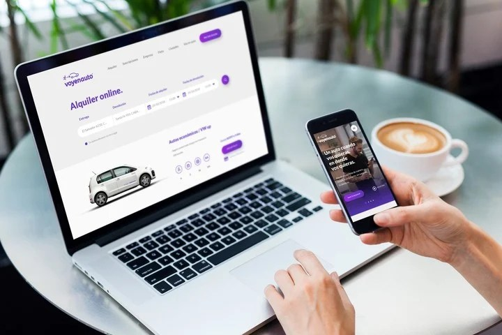 Voyenauto is an application that offers subscription rental.