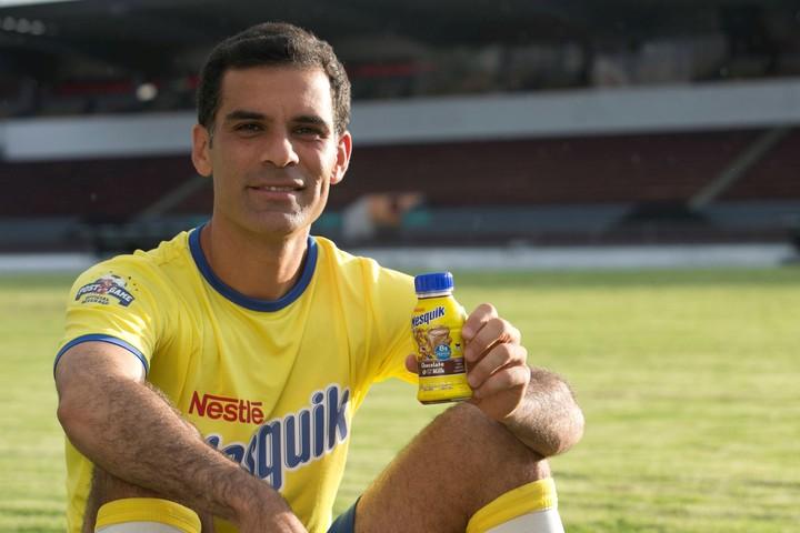 Mexican soccer player, Rafa Márquez, promotes one of Nestlé's most dangerous foods.  Photo / Archive