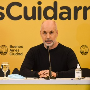 Surprise in a survey in the Province with the image of Horacio Rodríguez Larreta
