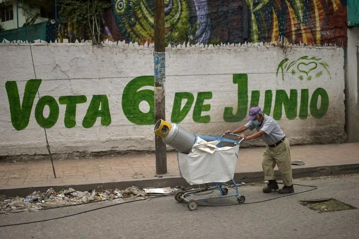 The elections this Sunday are the largest in the history of Mexico, and it was the most violent campaign.  Photo: AFP