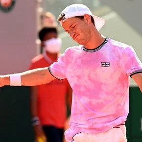 """Diego Schwartzman, after falling with the king of brick dust: """"Nadal is unbeatable at Roland Garros"""""""