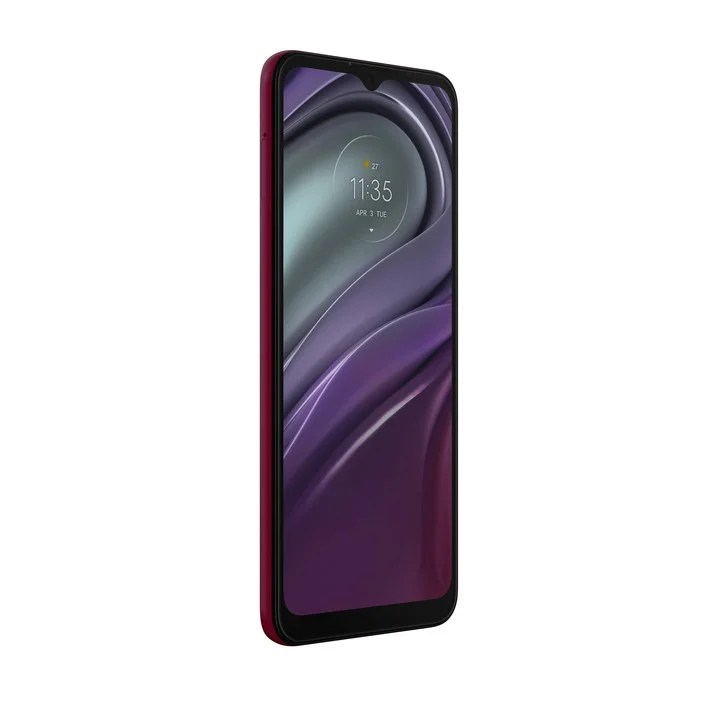 Motorola Moto G20.  6.5-inch Max Vision HD + IPS LCD screen, 1.8GHz Unisoc T700 chip.  Four cameras: main 48MP f / 1.7, wide angle 8MP f / 2.2, depth 2MP f / 2.4 and macro 2MP f / 2.4.  Price: $ 27,999.