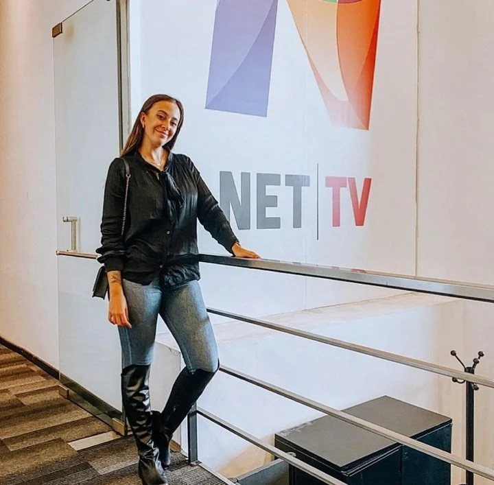 Naiara will debut as a host in July on the Net TV screen.