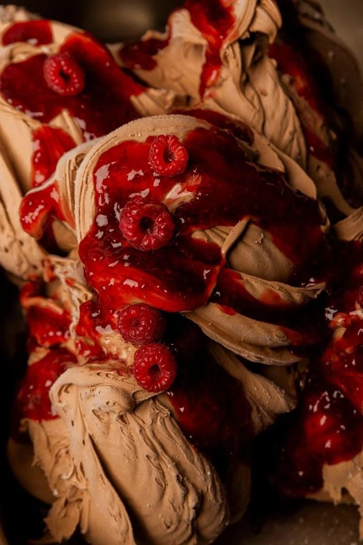 Intense fondente, one of the three new varieties of chocolate ice cream.