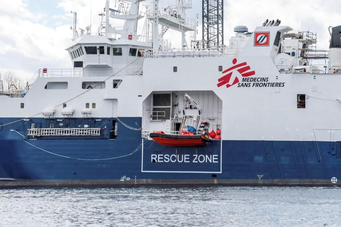 Rescue boat 'Geo Barents'.  Photo: dpa