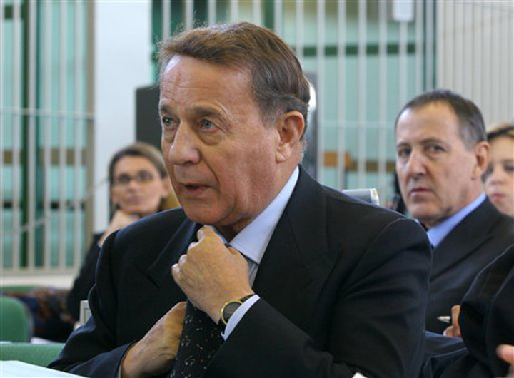 The businessman, Flavio Carboni.  Photo: AP