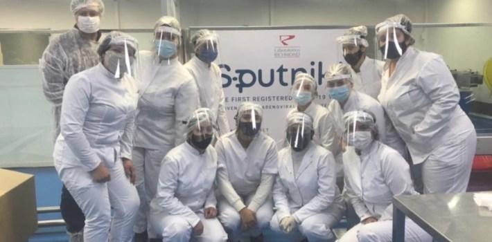 El laboratorio Richmond anunció que terminó de producir las primeras 400 mil dosis de Sputnik V