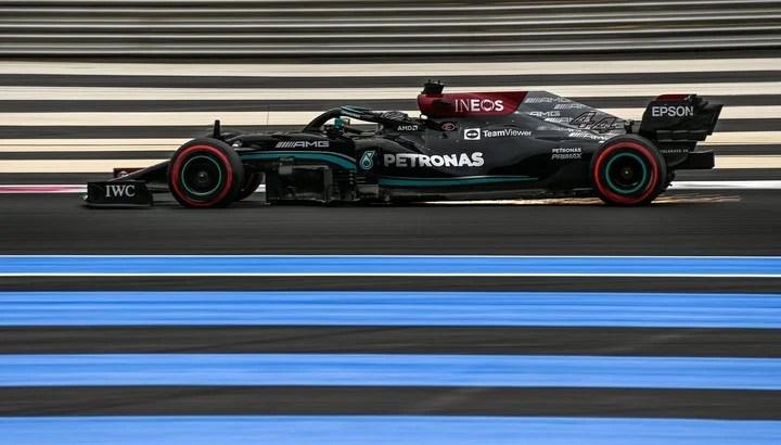 Lewis Hamilton tendrá el desafío de largar segundo cuando en las dos carreras previas en Francia había logrado la pole.