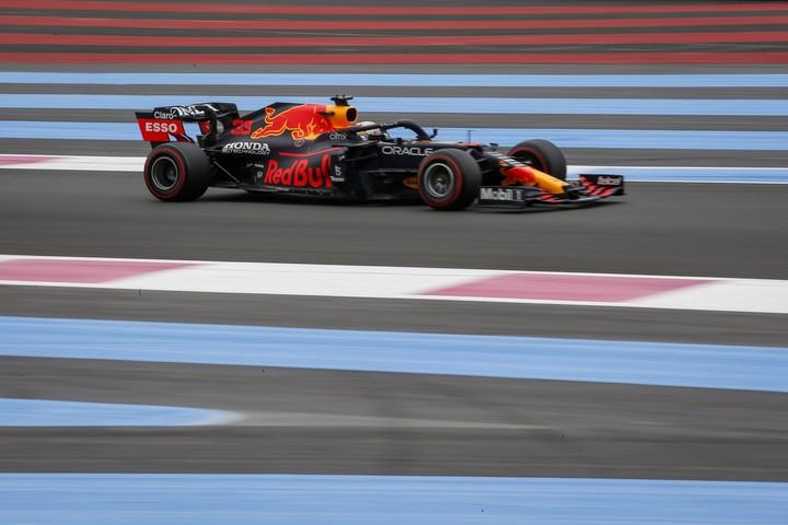 Max Verstappen logró en el Gran Premio de Francia la quinta pole position de su carrera.