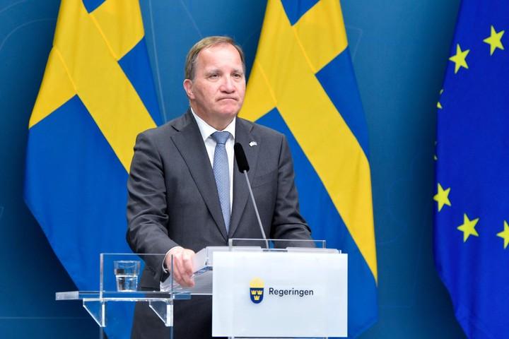 Swedish Prime Minister Stefan Loefven.  Photo: AFP