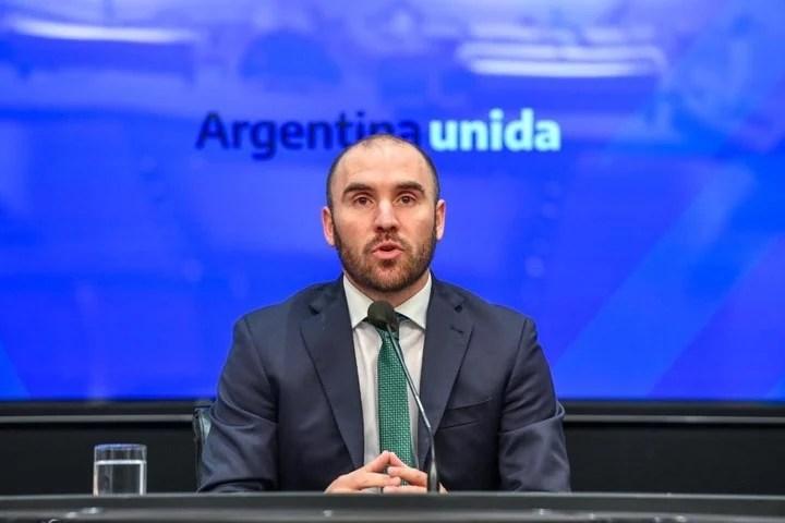 Martín Guzmán, Minister of Economy, criticized by a predecessor: Amado Boudou, who does not name him.  Photo Press Ministry of Economy