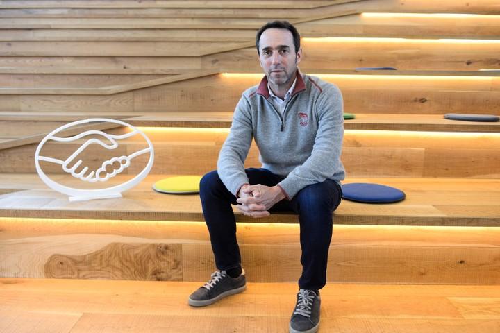 Marcos Galperín, founder and CEO of Mercado Libre.  Photo Clarín