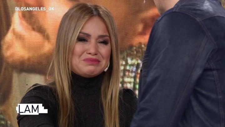 Karina broke down in LAM.  TV Capture