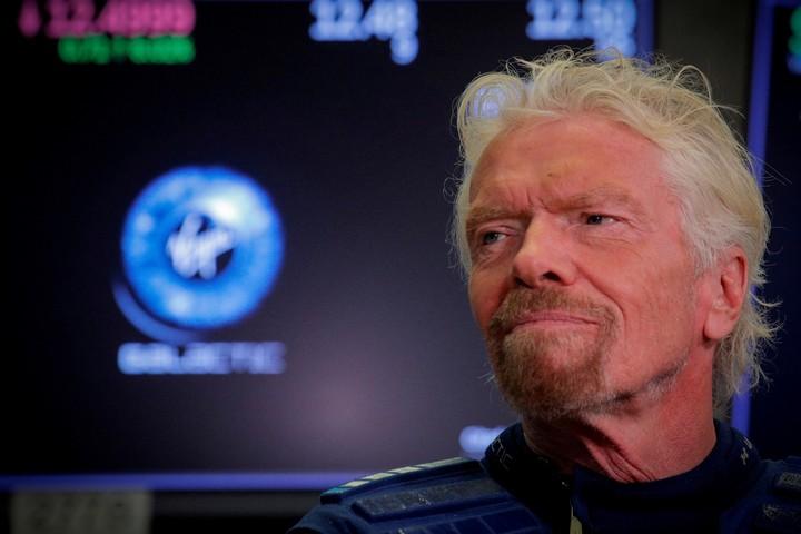 Richard Branson, CEO of Virgin Galactic.  Reuters photo
