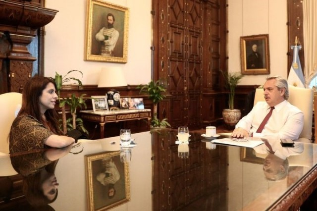 Victoria Donda respondió a la carta que le envió Alberto Fernández con un dictamen favorable para el Presidente.