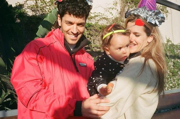Juan Ingaramo, Lila and Violeta Urtizberea.  Photo: Instagram.