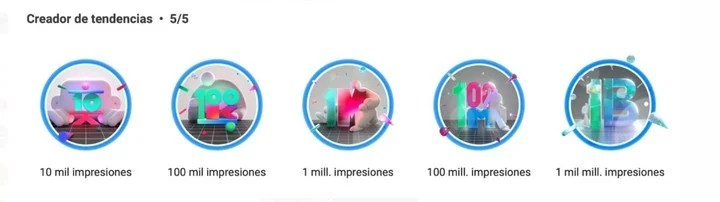 Instagram and the certifications that recognize the work of its creators.