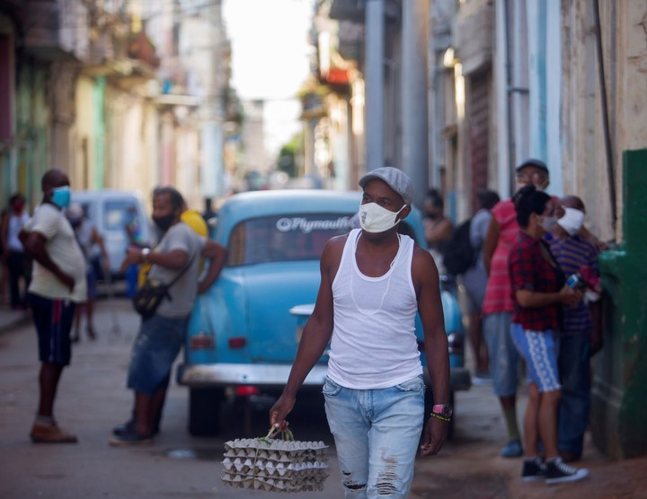 The app is used by 20% of Cubans.  Photo: EFE