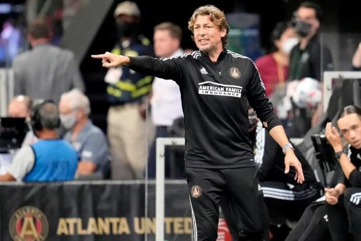 Heinze llegó al Atlanta en enero de 2021. Foto: Dale Zanine-USA TODAY Sports