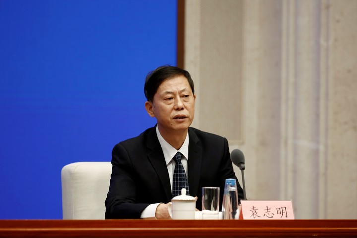 Yuan Zhiming, director of the National Biosafety Laboratory (Wuhan) and professor at the Wuhan Institute of Virology, has already rejected the possibility.  Photo REUTERS / Shubing Wang.