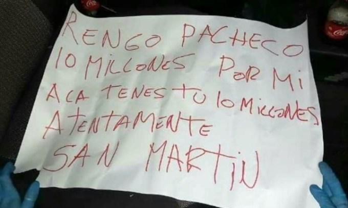 """Guerra narco en San Martín: la banda del """"Rengo"""" Pacheco, enfrentada con la organización de """"Mameluco"""" Villalba."""