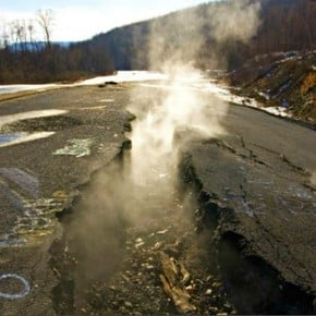 Welcome to hell: Centralia, the town that has burned for 60 years