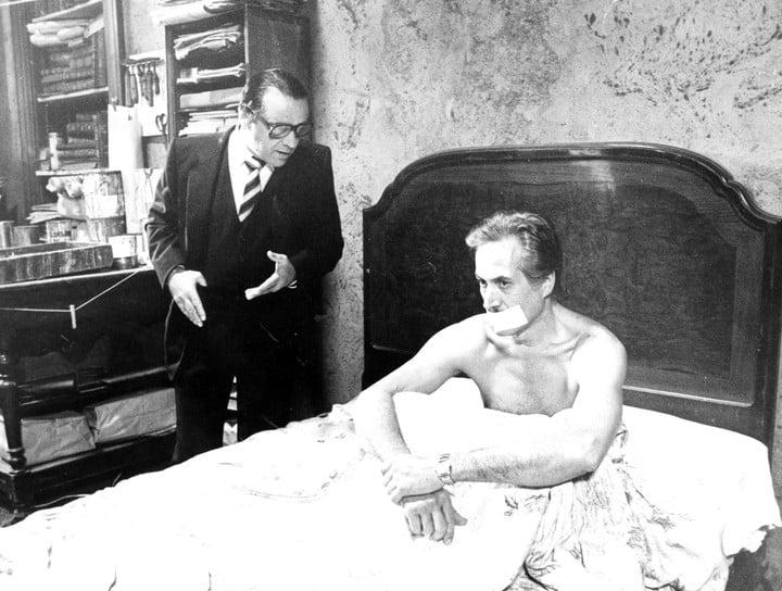 """Federico Luppi with Julio De Grazia in """"Revenge time""""."""