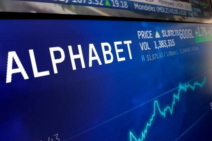 "Alphabet, the company ""mother"" of Google.  AP Photo"