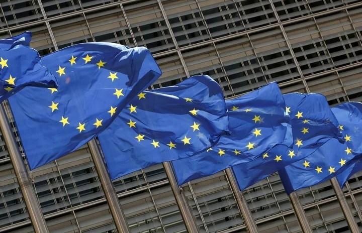 THE European Union sanctioned Amazon.  Reuters photo