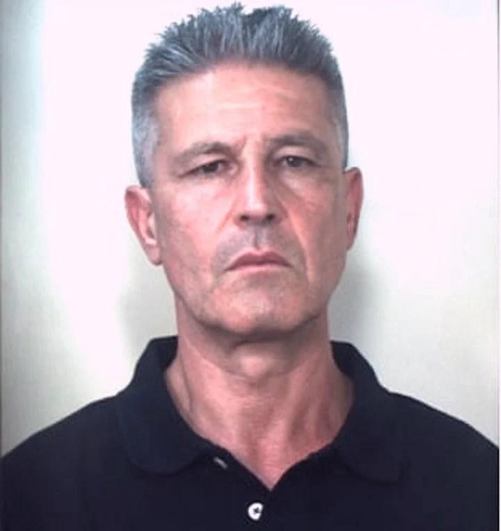 Image of Domenico Paviglianiti, the leader of the Italian mafia 'ndrangheta, captured in Spain.  Photo: AP